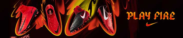 Nike fire & ice red