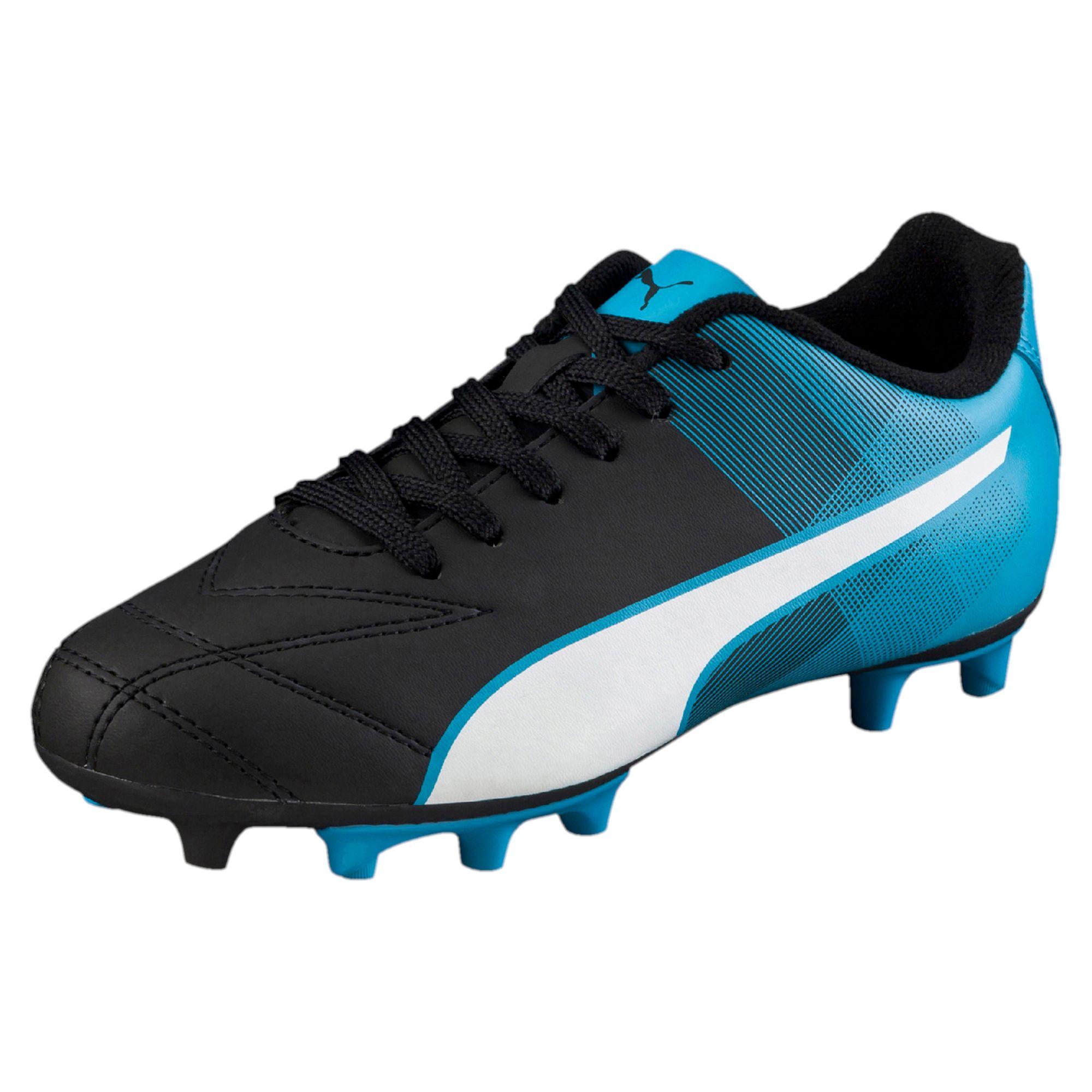 blue puma soccer cleats