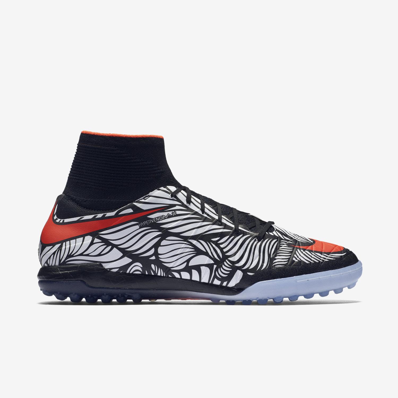 JR Tiempo Genio Leather TF Soccer Shoe white size 3