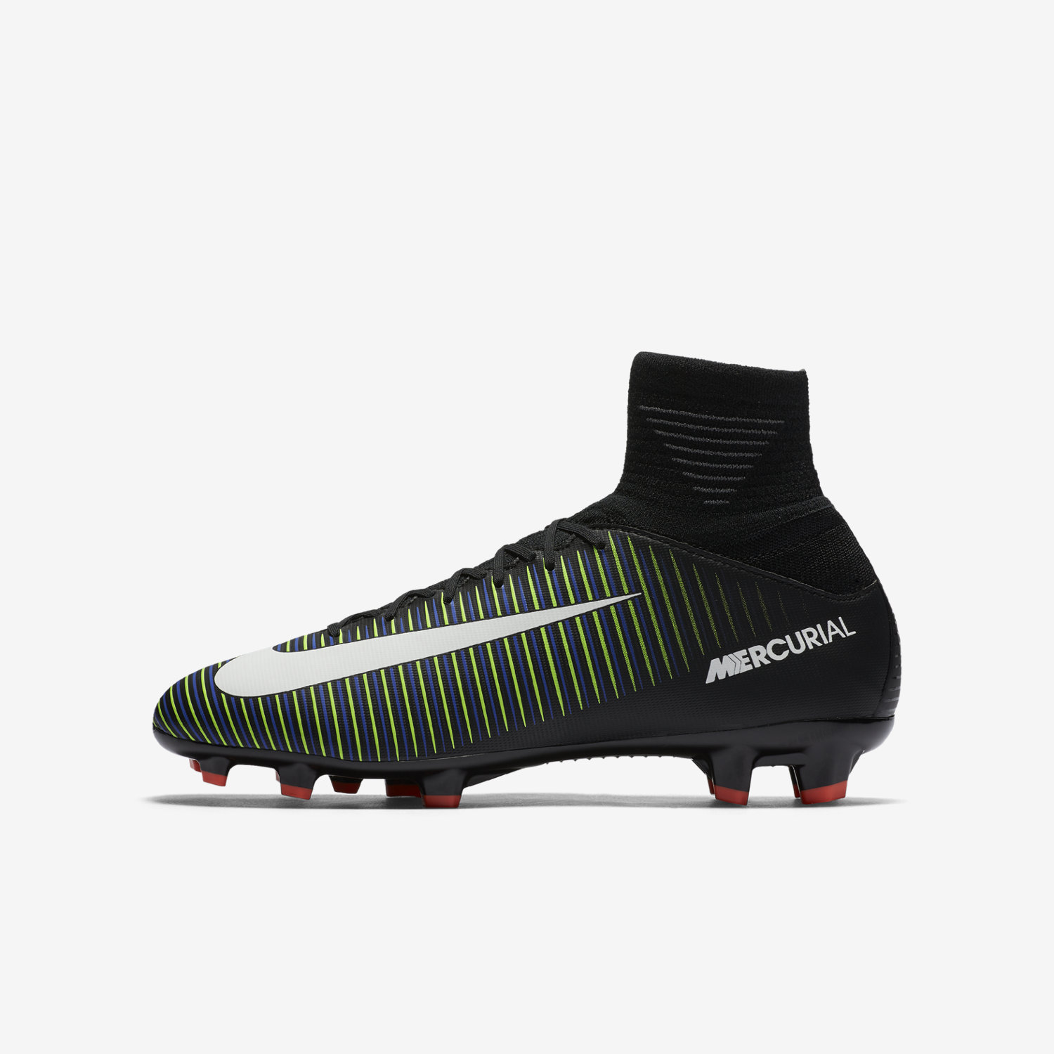 new product b1731 78193 Nike Mercurial Superfly V FG Jr-Black/Electric