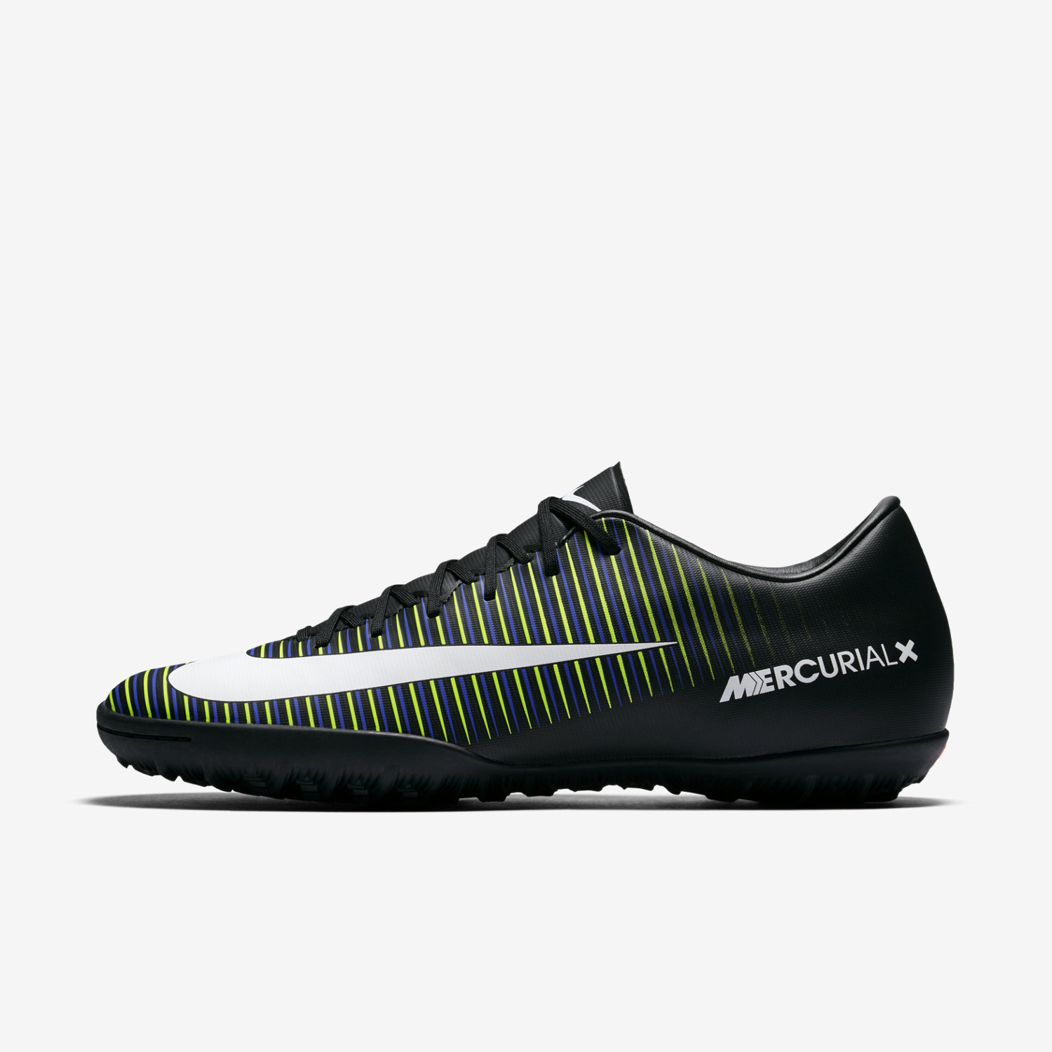 Nike Mercurial Victory VI TF Mens Black/White/Electric Green/Paramount Blue M998921TV Shoes