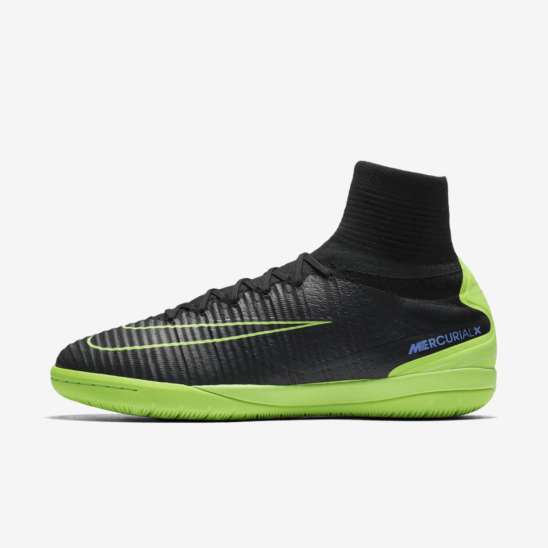 timeless design 100b8 e5c7c Nike Mercurialx Proximo II IC-Black Electric Green