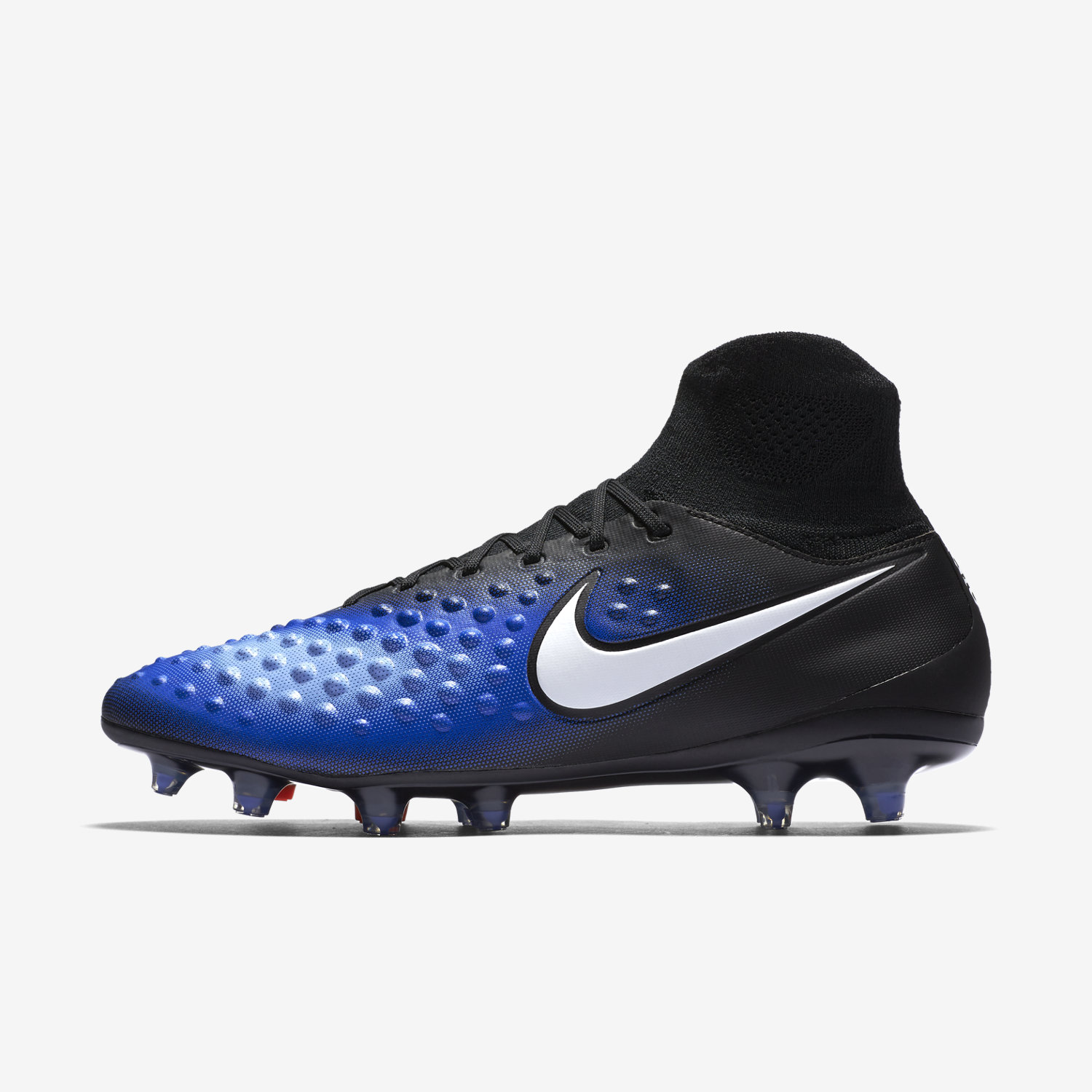Exceptionnel Nike Magista Orden II FG - Black/Blue VS71