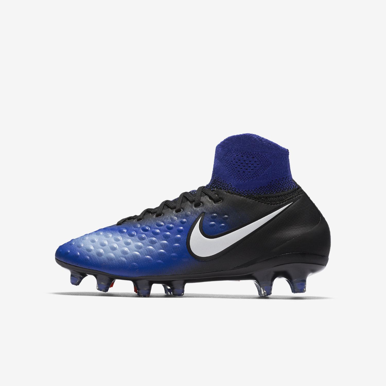 Los Angeles 4e96d a7a1b Nike Magista Obra II FG JR - Black/Blue