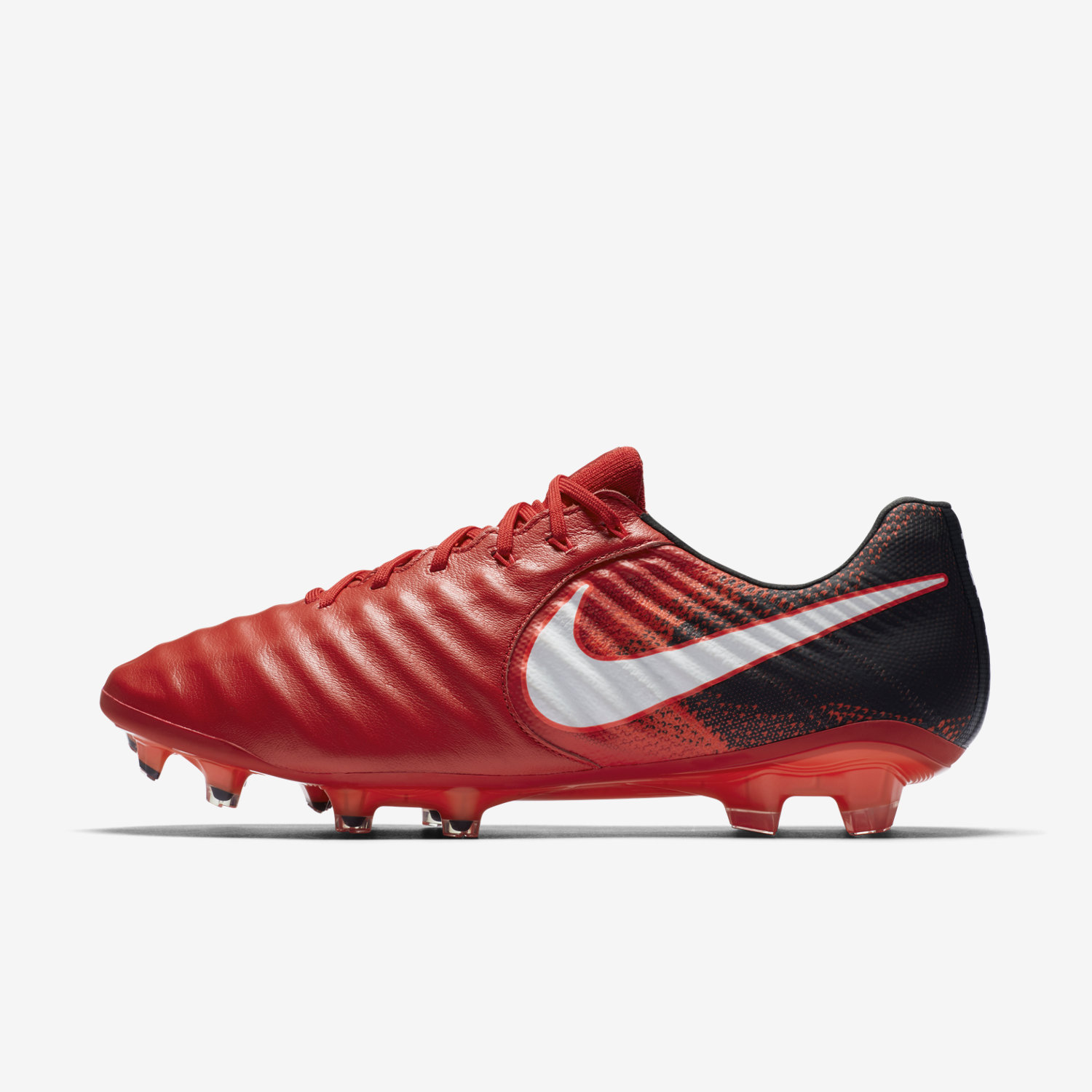 Nike Tiempo Legend VII FG - Red/Black - fire & ice red