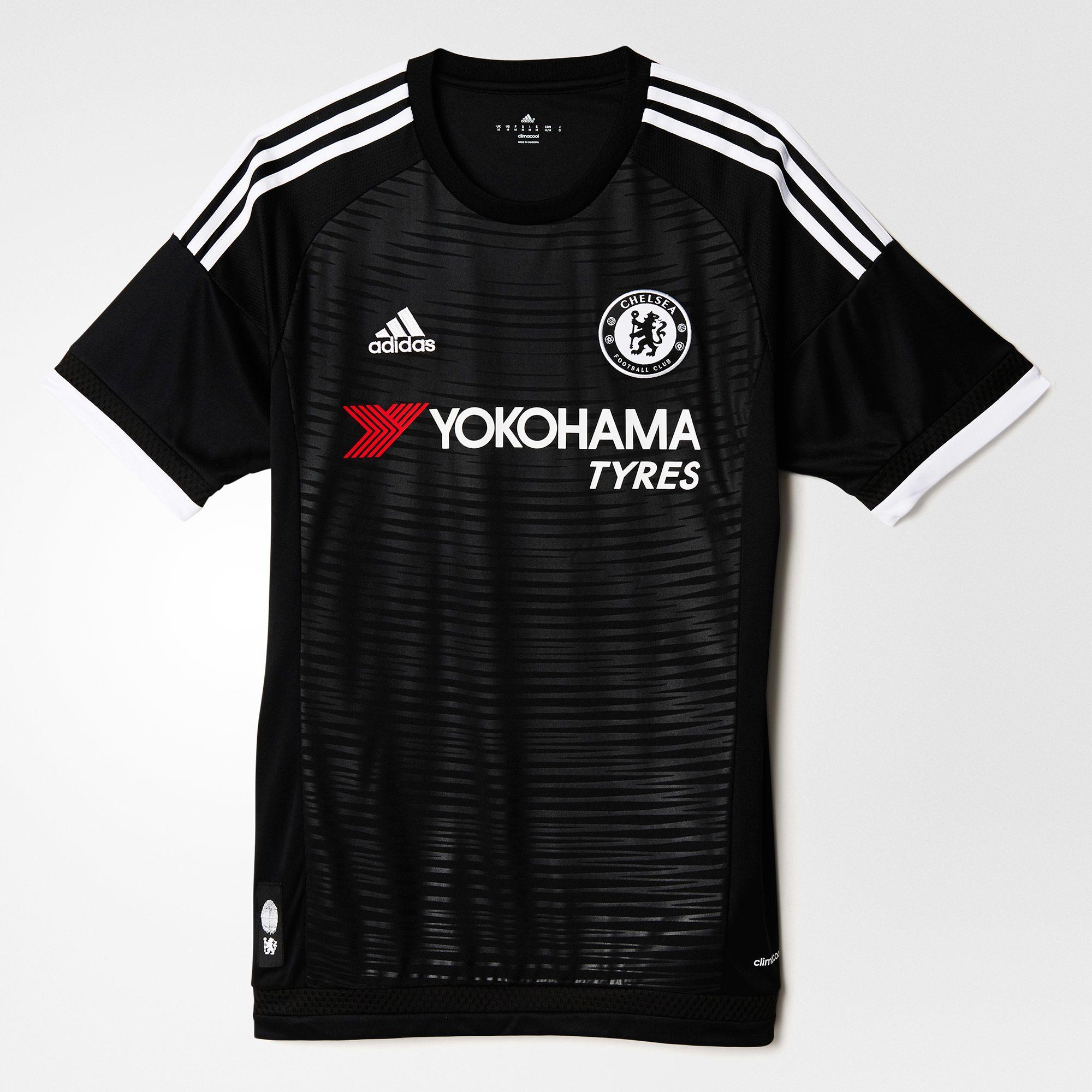 brand new 54156 b5666 adidas Chelsea 3rd Jersey 2015/16 - Black/White
