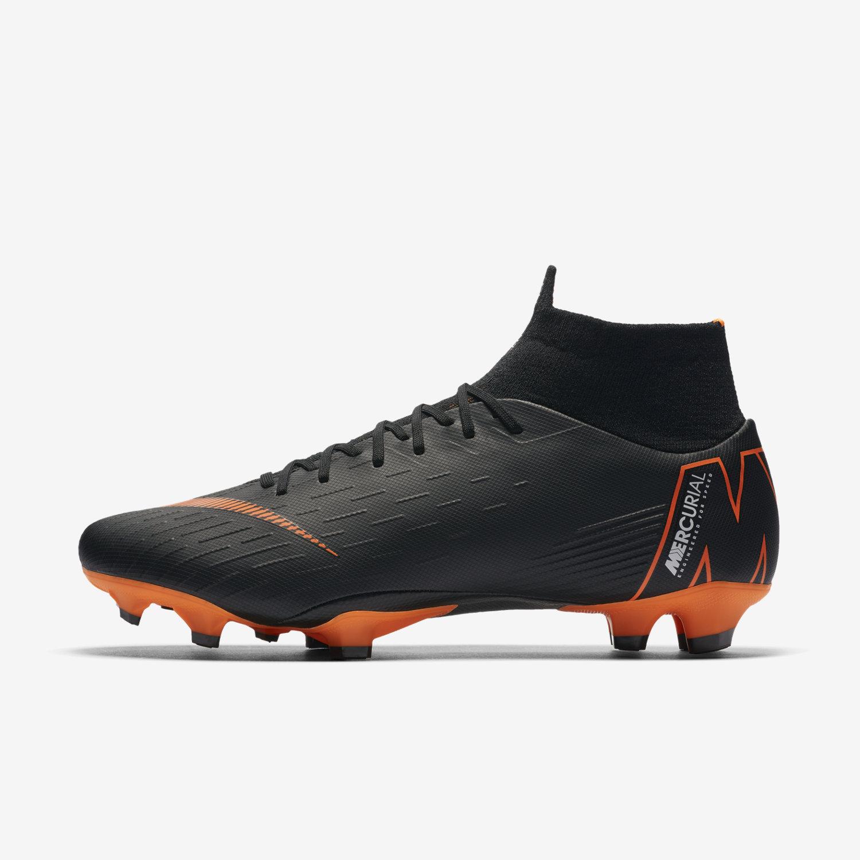 9bb749e4f Nike Mercurial Superfly 6 Pro FG - Black/Total Orange - Fast AF