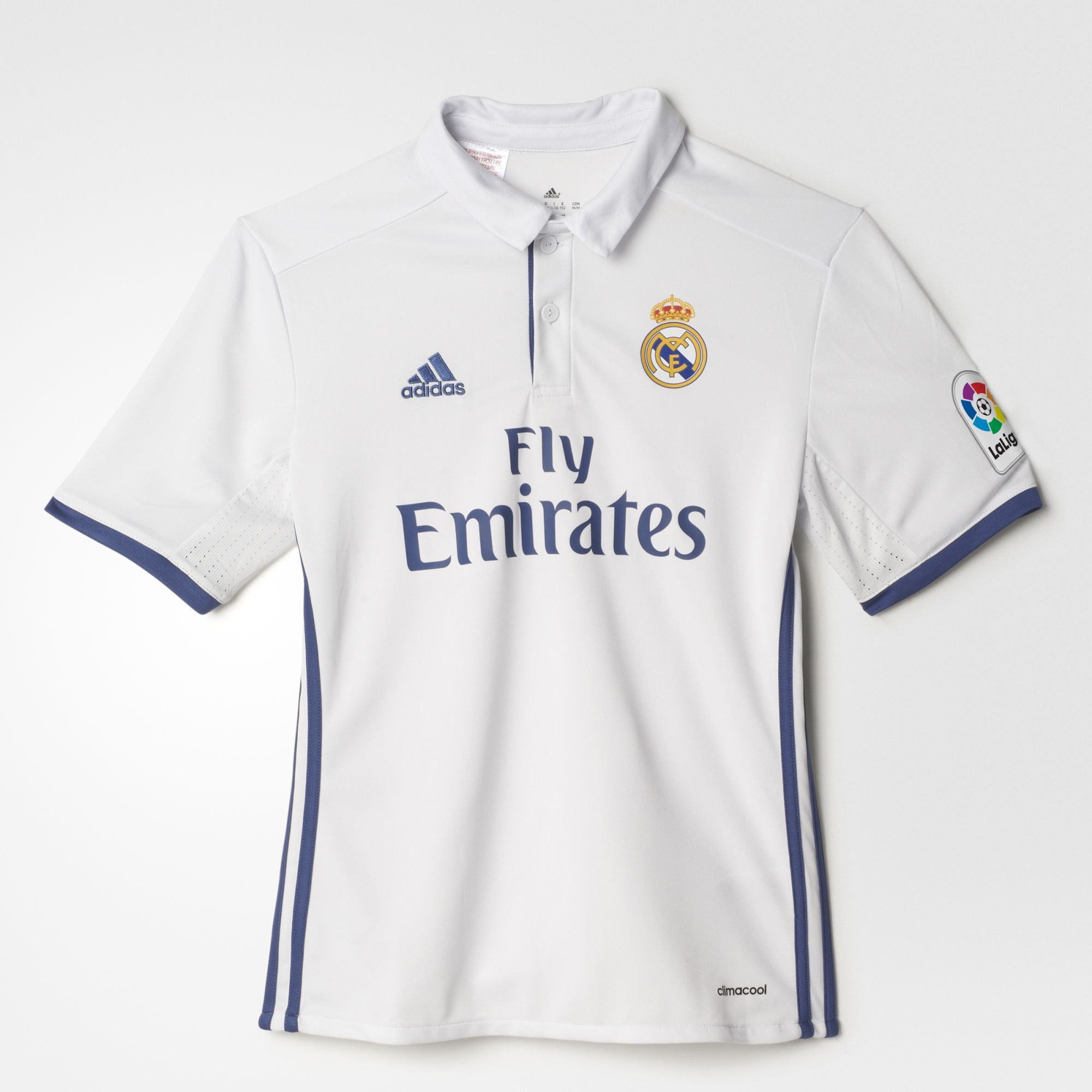 the best attitude d1041 90d85 Adidas Real Madrid Youth Home Jersey 2016/17-White