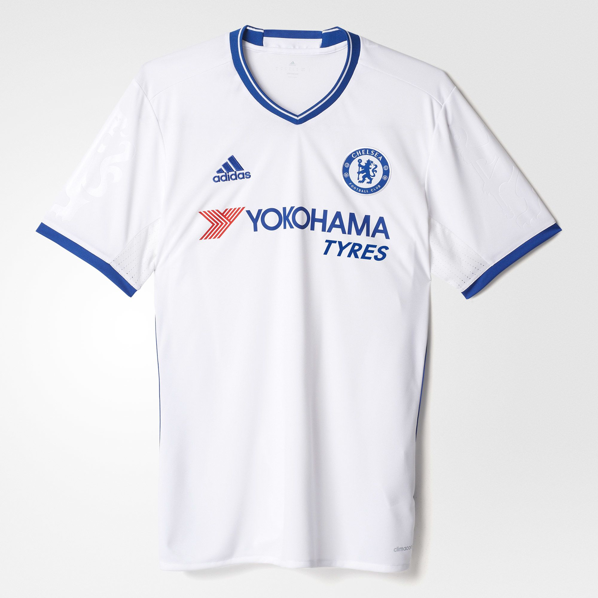 Adidas Chelsea 3rd Jersey 2016 17 - White Blue 62d9f920b