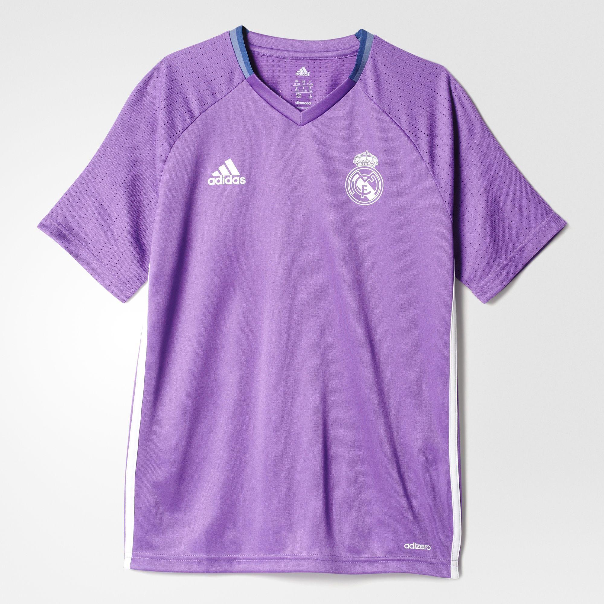 00b142854 Real Madrid Training Jersey 2016 17- Purple