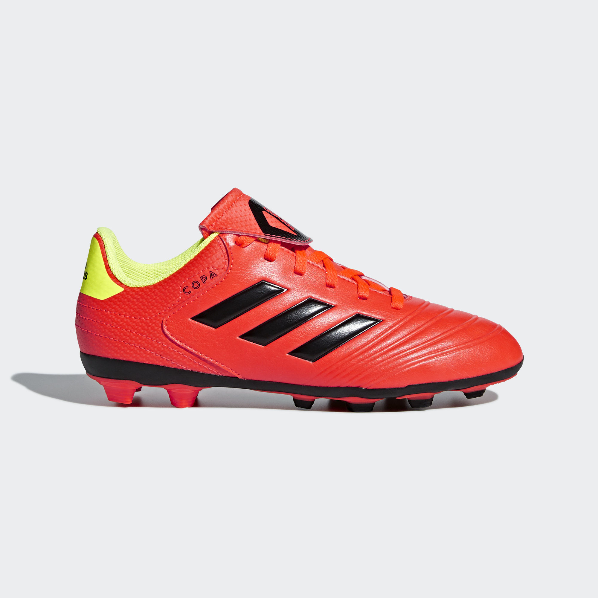 787a4787d adidas Copa 18.4 FXG Jr - Red Yellow - Energy Mode