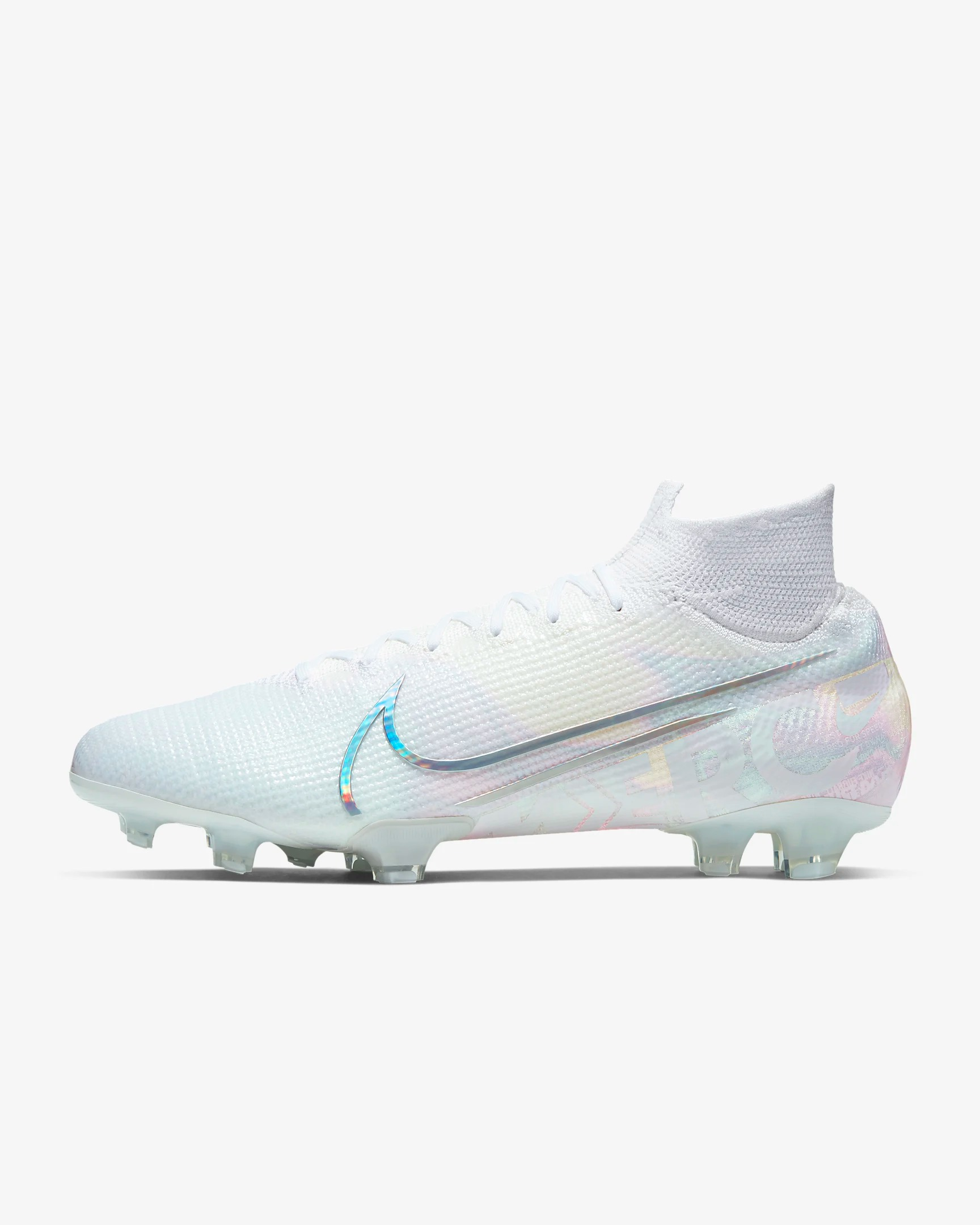 los angeles 731e6 cebdb Nike Mercurial Superfly 7 Elite FG firm ground soccer cleats White