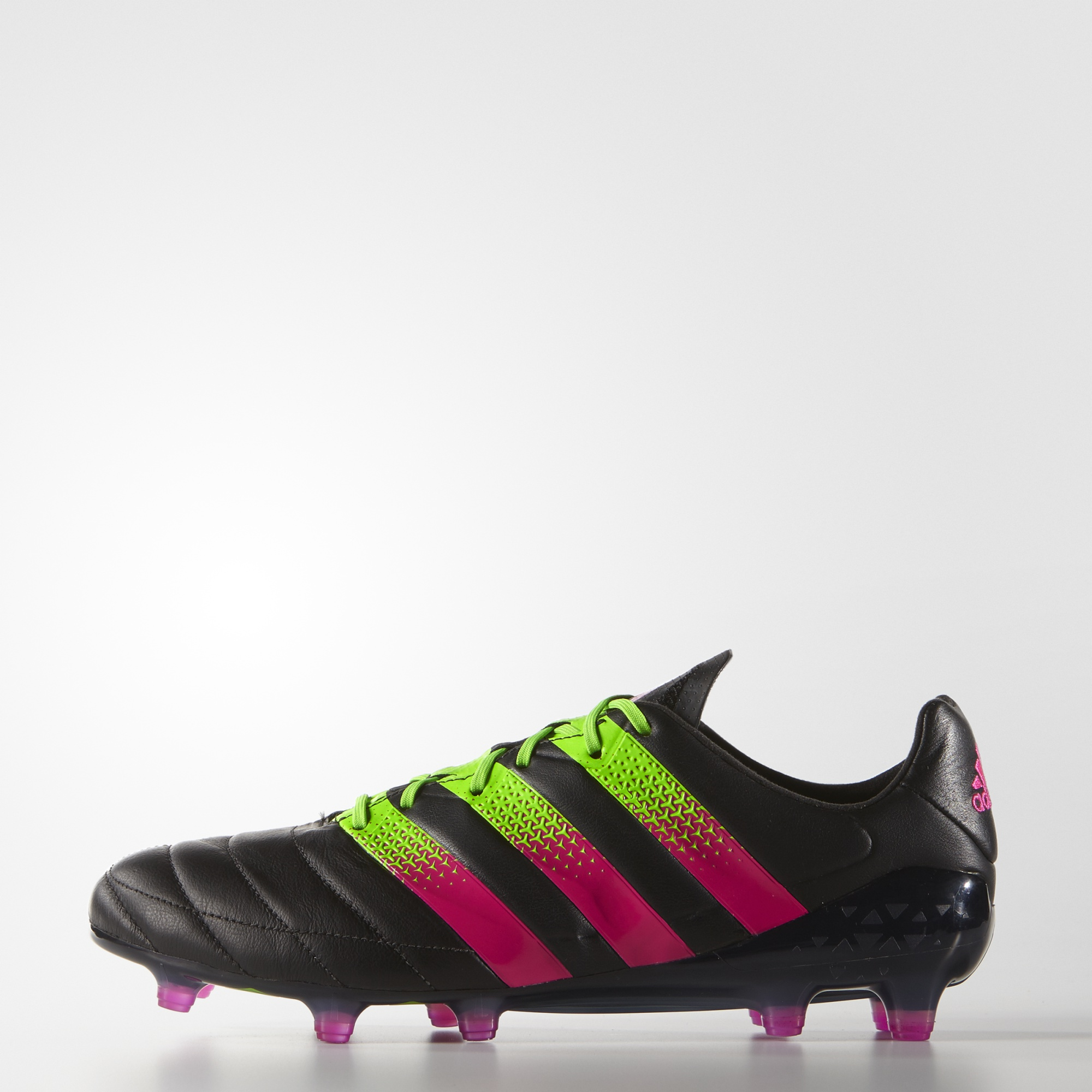 check out 117b4 f24b5 adidas Ace 16.1 FG/AG Leather - Black
