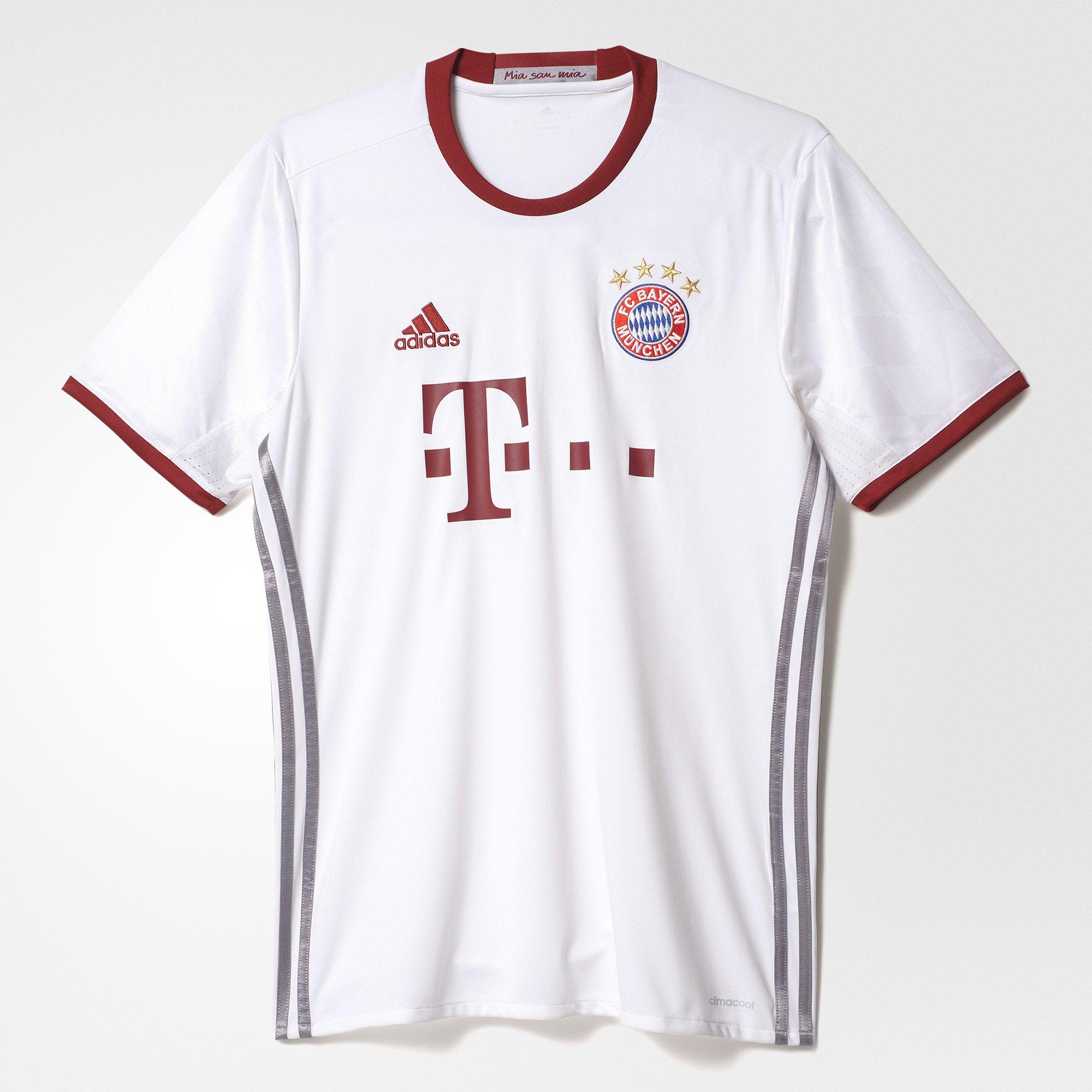 adidas Bayern Munich 3rd Jersey 2016/17 - Wht
