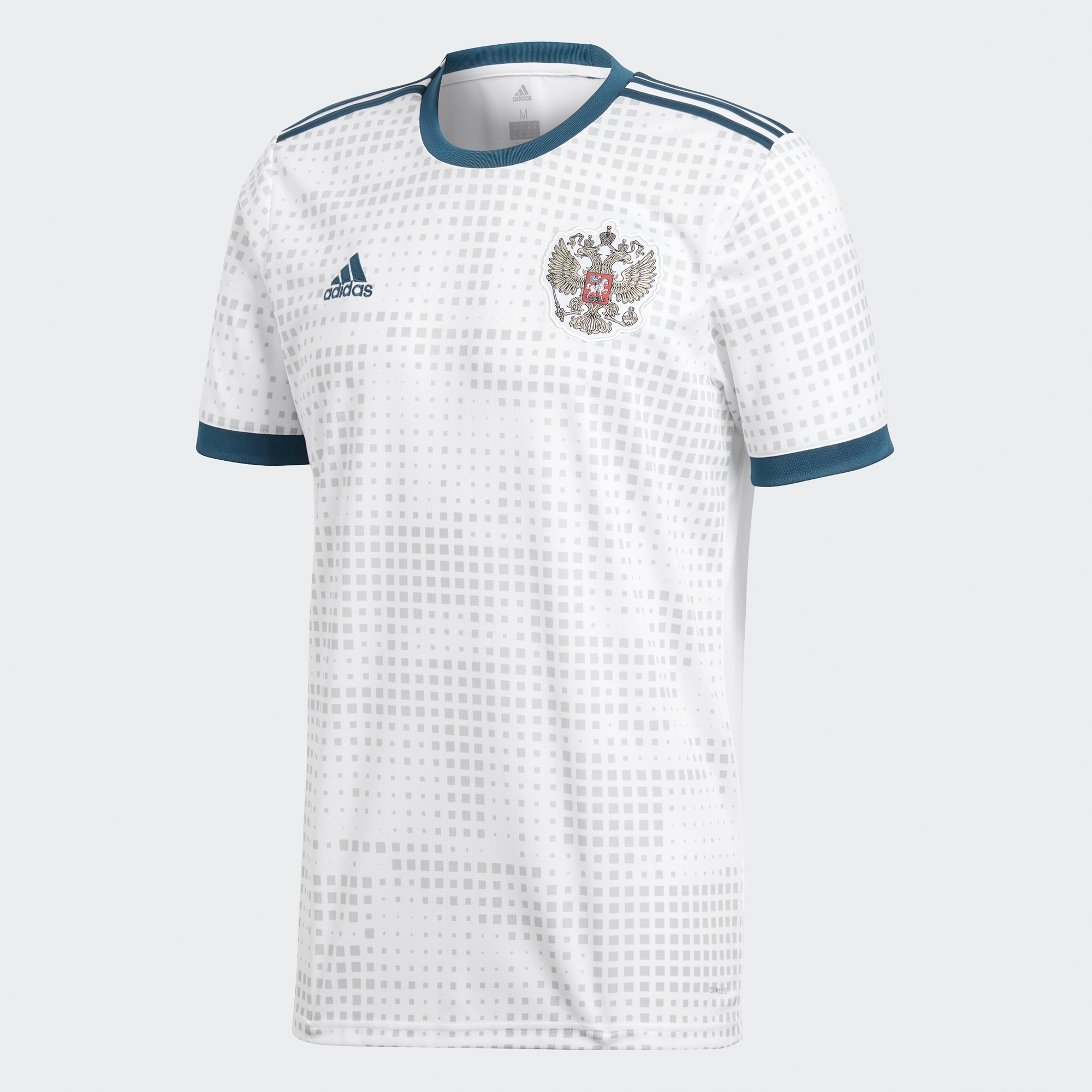 adidas Russia Away Jersey Mens 2018 - White - World Cup 2018 bef0dae81