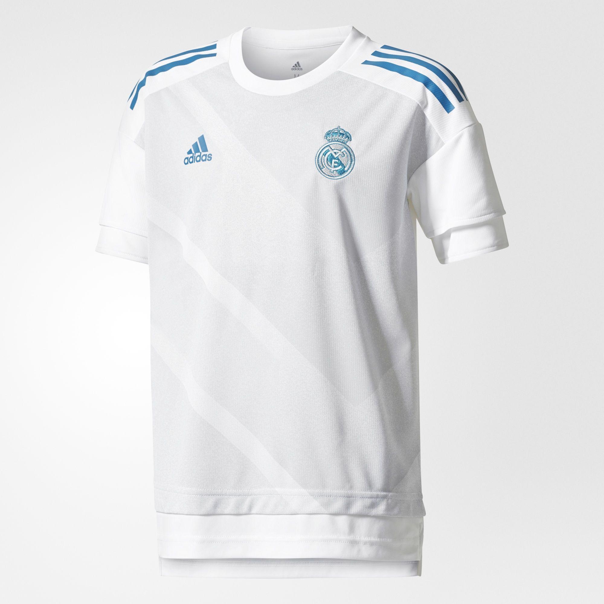 db6e46fb5 adidas Real Madrid Home Pre-Match Jsy Youth 17 18