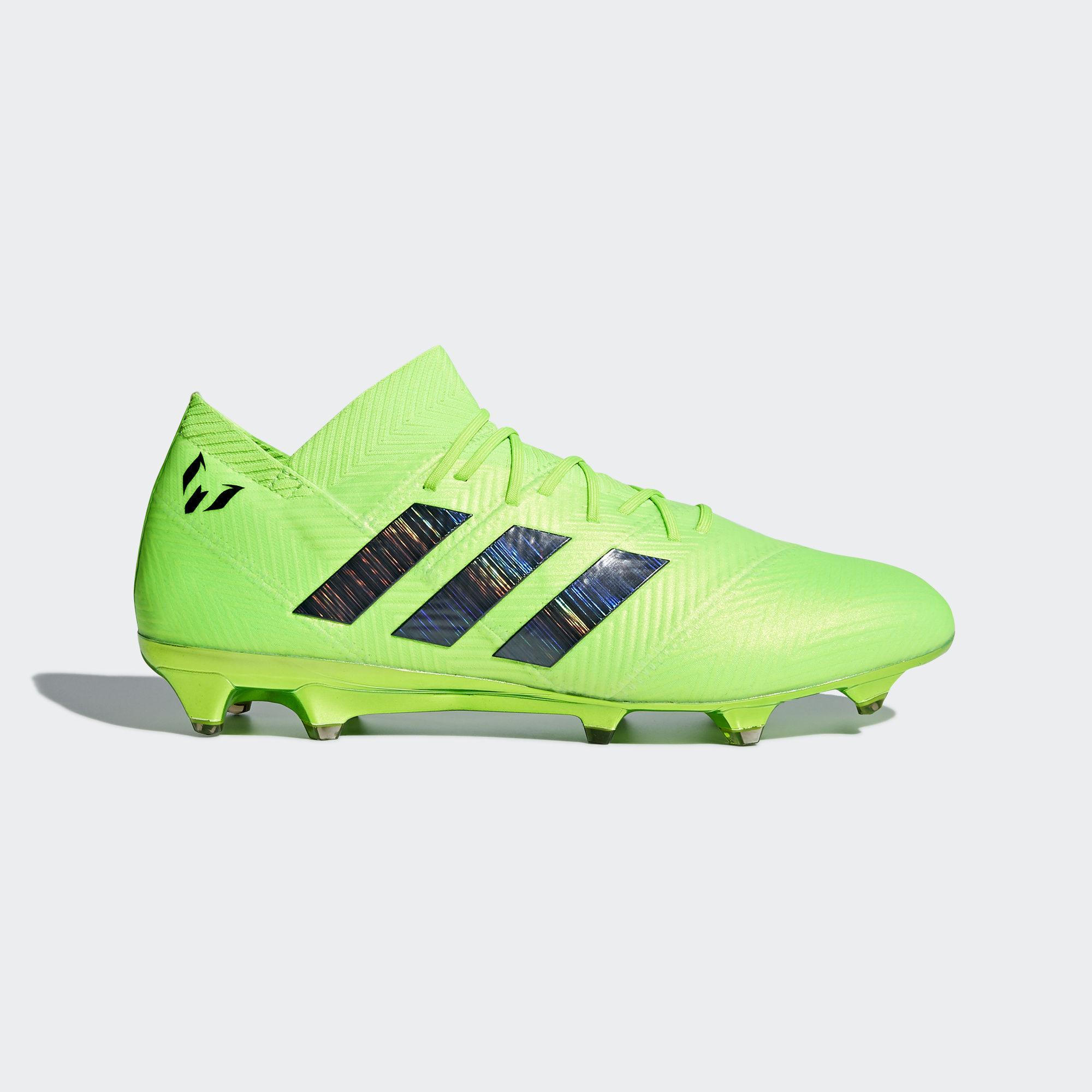 5e99b3578cd8 adidas Nemeziz Messi 18.1 FG - Green/Black - Energy Mode