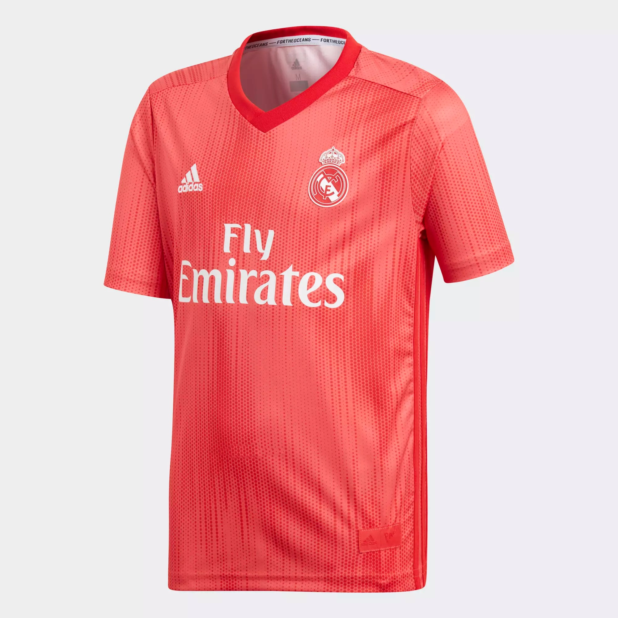 704c63f9a67 adidas Real Madrid Youth 3rd Jersey 2018 19- Real Coral