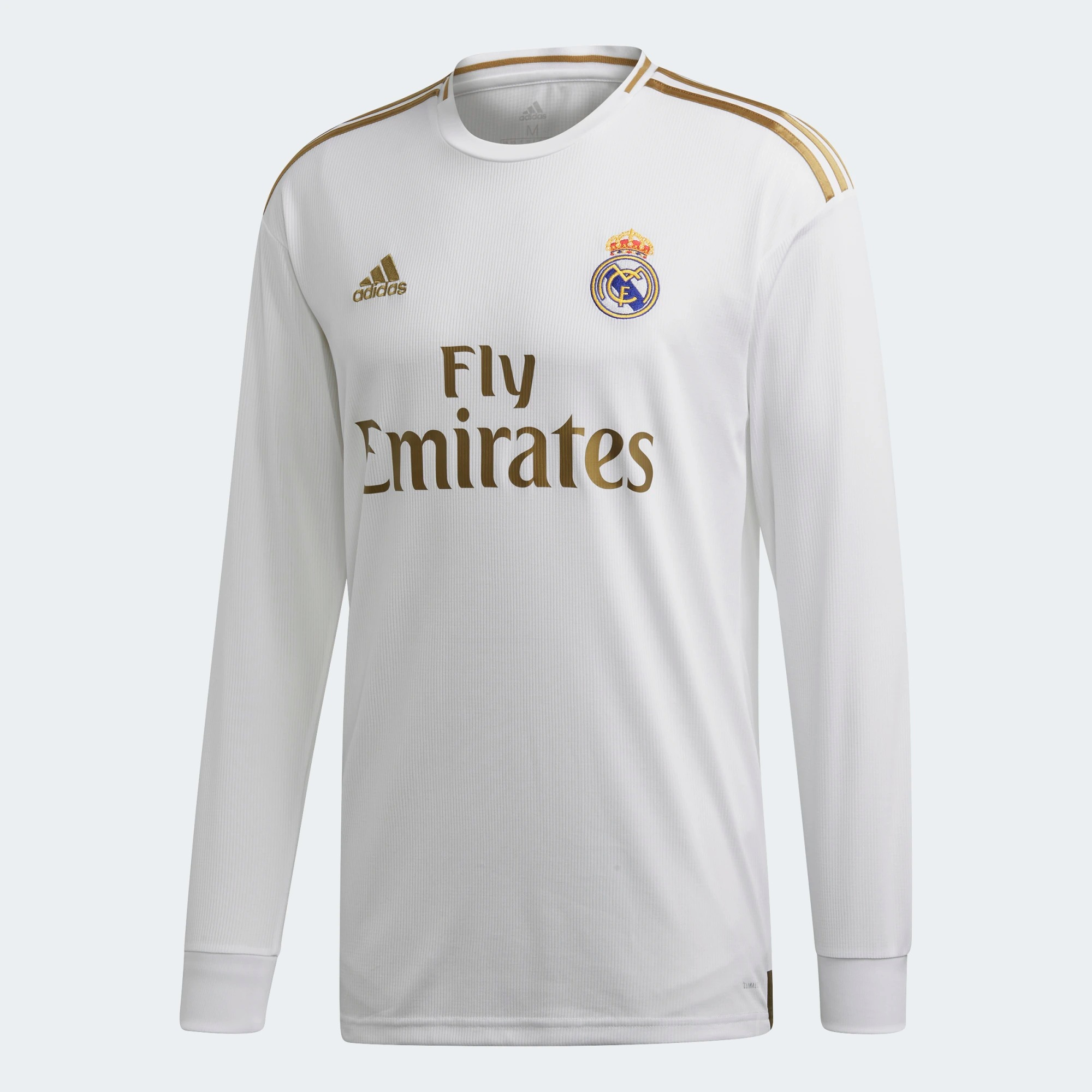 finest selection 23d6c fe819 adidas Real Madrid Mens Home Jersey Long Sleeve 2019/20