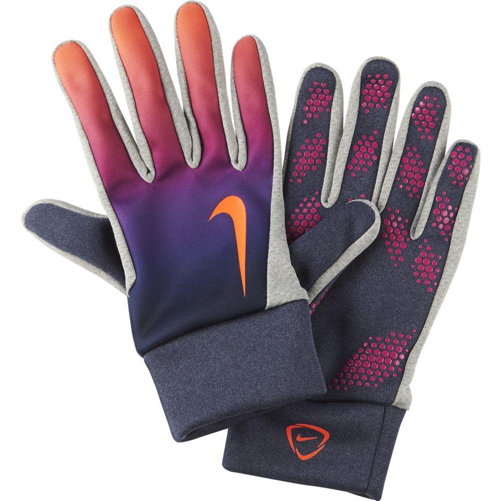 Cheap Nike Hyperwarm Field Player Gloves - Obsidian Purple 862800410904