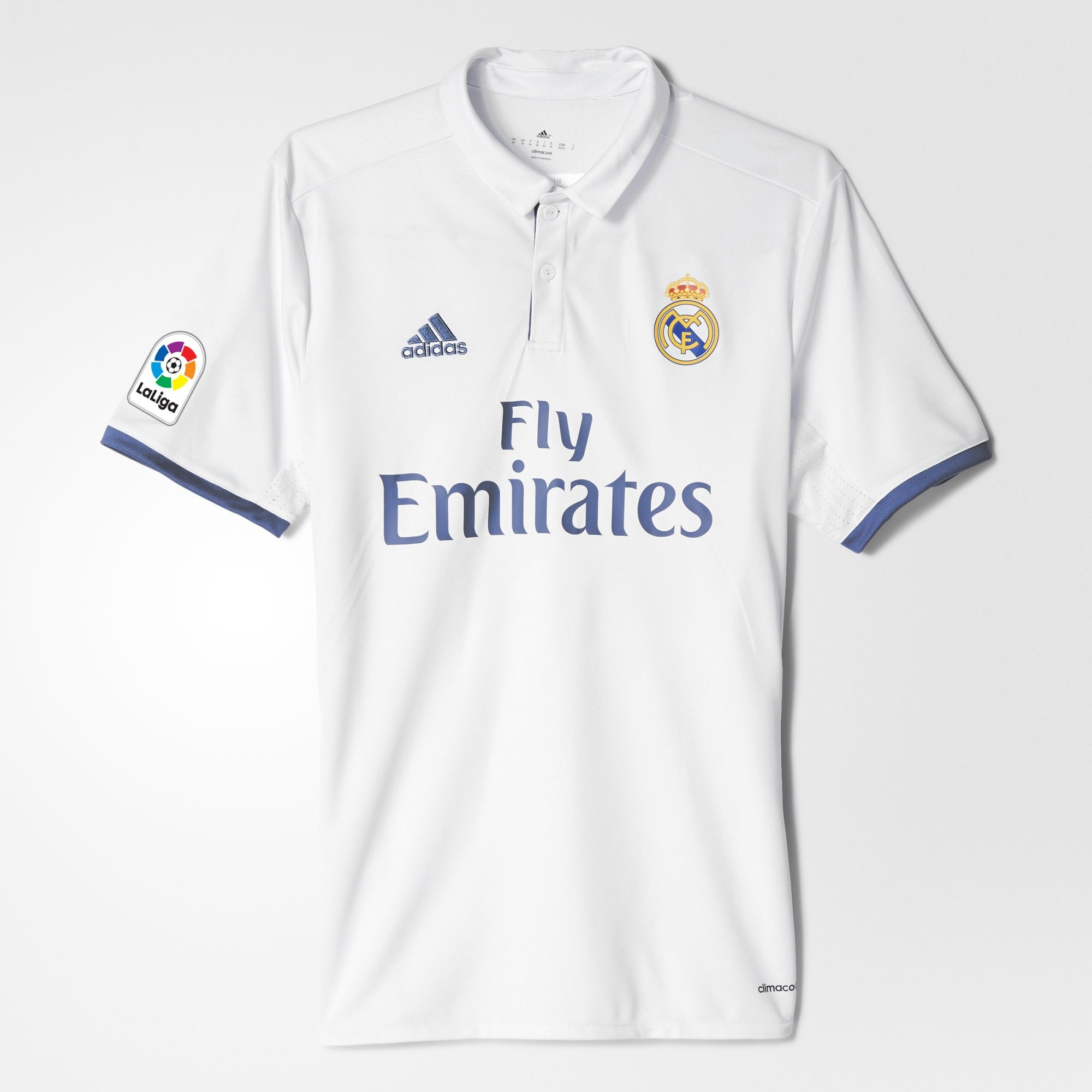 online retailer a24a0 11d7b adidas Real Madrid Home Jersey 2016/17 - White