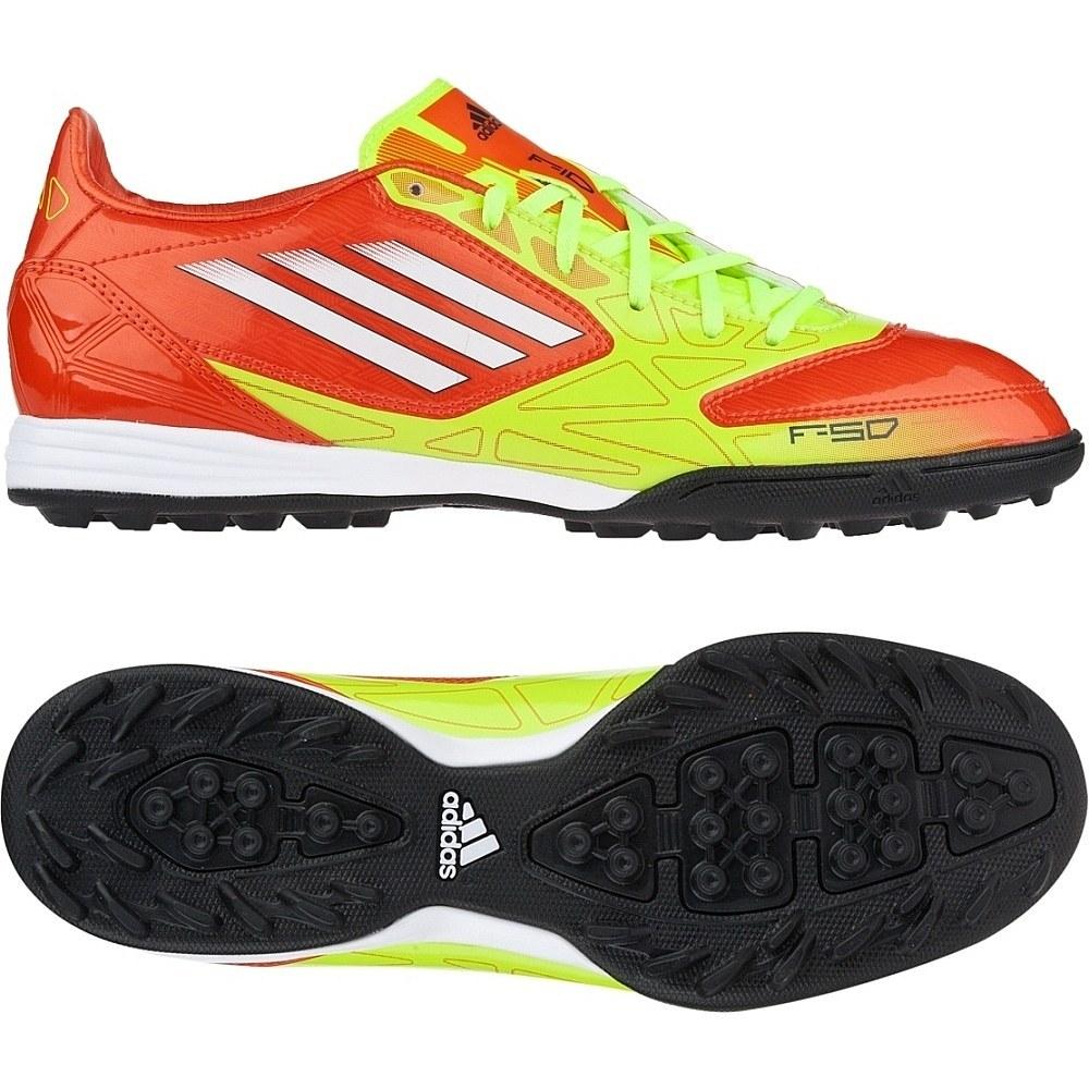 adidas F10 TRX TF - Orange/Yellow