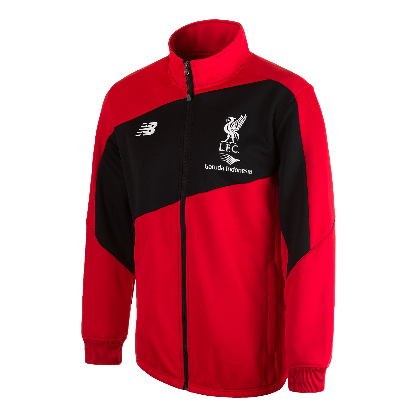 cheaper 3adc7 64a55 NB Liverpool Training Walkout Jacket 2015/16 - Red