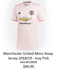 Man U pink shirt