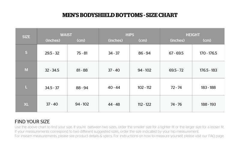 storelli size chart2