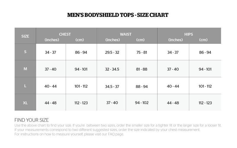 Storelli size Chart1